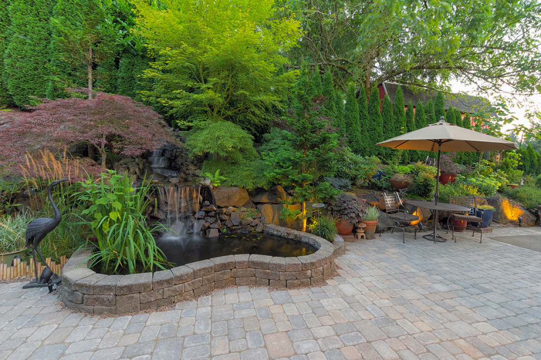 outdoor living space stone pro inc